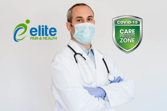 COVID-19 CARE Protect Clinic Zone - Elite Pain & Health